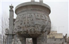 供应大型石雕香炉,石雕石鼎直径4米7高6米9,石雕