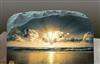 厂家直供石板画 旅游纪念品S10.M.0工艺品  企业订制 水晶岩画