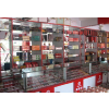 供应天津及周边精品时尚烤漆箱包展柜、鞋帽展柜(量身定做)