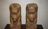 供应石雕工艺品摆件大理石小狮子 蹲狮室内摆件