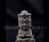 供应台湾铁丸石,石愿系列产品,3寸小菩萨石雕工艺品