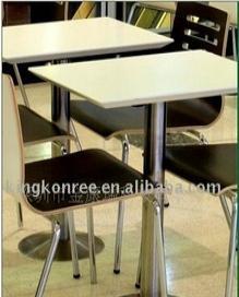 情侣餐桌 人造石快餐桌  人造石桌面 人造石材料 人造石厂 餐桌