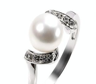 15款经典珍珠戒指SR1038PL  今年秋天热卖  韩版首饰加工批发