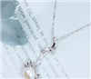 供应 专柜正品 925银天镶然珍珠吊坠 时尚复古 饰品 气质百搭