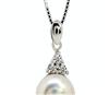 饰品批发 真爱如雪 天然珍珠项链 项坠SP0565PL   珍珠吊坠项链