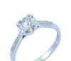 专柜正品 支持验货 铂金PT950天然钻石戒指33.5分 女戒 新款饰品