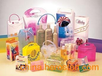 供应PP环保胶盒/透明包装/pvc包装盒/pet折盒,广告礼品袋  透明PVC PET材料