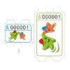 供应游戏机卡纸 游戏机半票 游戏机彩票