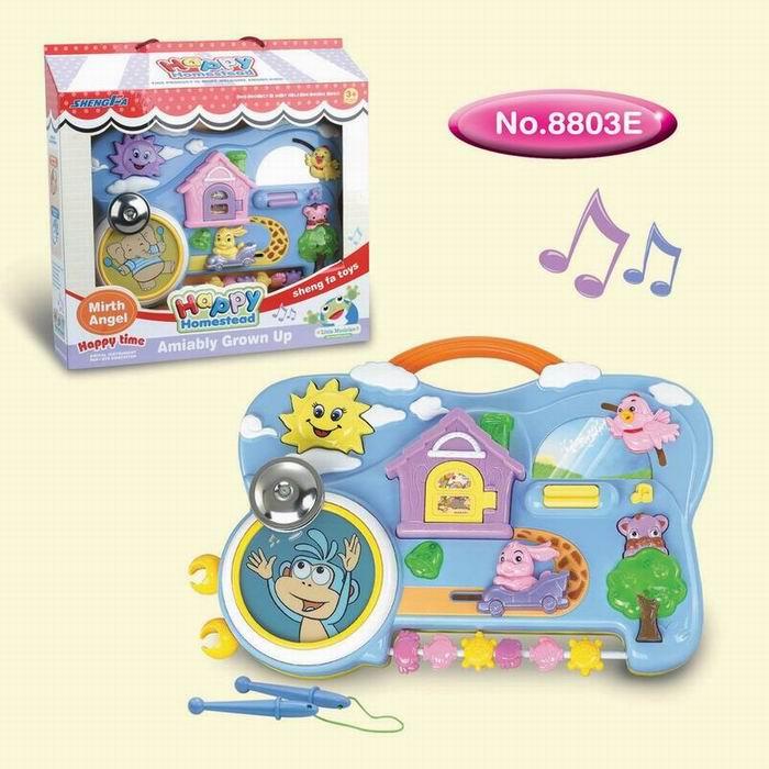 供应玩具快乐家园琴