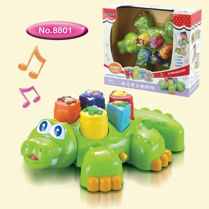 供应玩具鳄鱼智慧宝宝