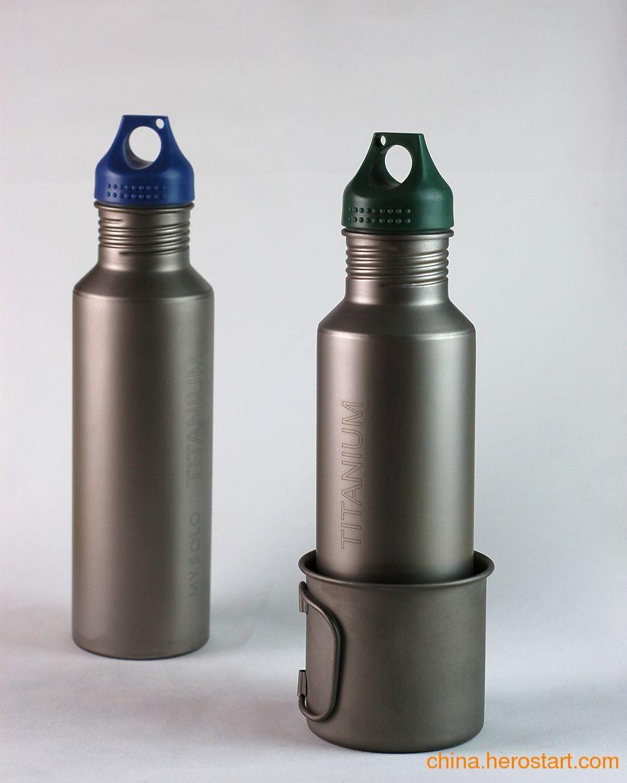 供应宝鸡钛礼品钛水杯纯钛运动水壶厂家
