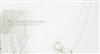 时尚精品简约蝴蝶结项链 H000140义乌小饰品批发