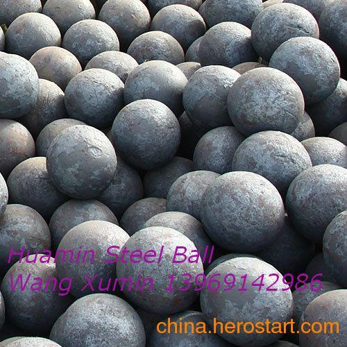 供应耐火材料、化工行业球磨机用高猛高碳合金耐磨钢球,研磨钢球,锻钢球,铸球