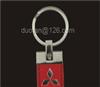 【专业批发】金属钥匙扣 皮质钥匙扣 印刷定做三菱车标 Y276