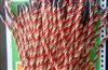 厂家直销定做各类手提绳批发,三股扭绳,丝光绳,金属扣手提绳