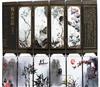 漆器工艺品小屏风礼品摆件旅游纪念品 中国特色商务礼品 梅兰竹菊