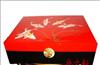 新古典日式漆器 彩绘储物大地柜/矮茶桌茶台/茶几 实木家具批发