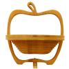 供应创意的家居水果篮子 竹编水果篮