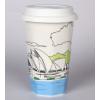 供应商洛铜川陶瓷马克杯批发订做广告杯