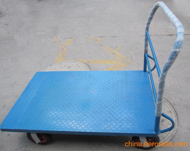 供应河南郑州平板车,物流手推车,折叠平板车,搬运车,拉货车