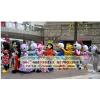 供应上海卡通人偶定制,吉祥物玩偶定做,卡通服装,动漫玩偶服装,轻松熊