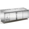 供应广州哪里有便宜的餐厅卧式冷柜卖?海顺冷柜