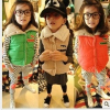 供应厂家直销 2012新款秋装韩版宝宝女孩儿童 糖果色 羊羔棉马甲