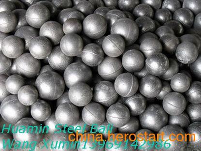 供应电厂专用60mm高质量研磨铸球,球磨机铸球