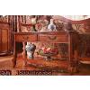 供应欧式实木家具收纳储藏柜沙发背几、韩式田园白色书柜-电视柜背几