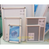 供应铝合金开启式、非开启式广告框、展板框、制度框