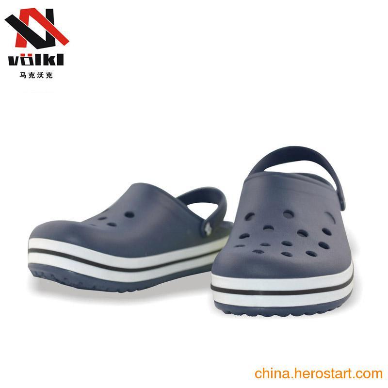 供应2012新款男士沙滩鞋 洞洞鞋批发 花园鞋 洞洞花园鞋批发