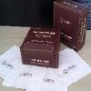 四川广告盒抽纸巾 广告钱包纸巾 彩色餐巾纸-睿龙纸业feflaewafe