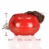 供应鼎艺大号中国红陶瓷罐一鹭莲升