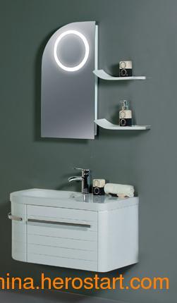供应佛山卫浴昊沃含灯浴室镜柜H81202