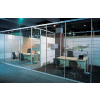 供应玻璃隔断 成品玻璃隔断 铝合金隔断 百叶隔断 双玻百叶隔断