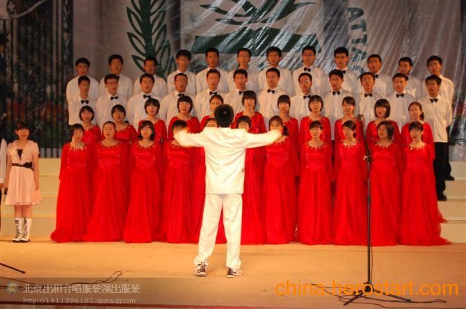 供应学生12.9合唱服装出租 20起租合唱服装款式多 格格服装出租 北京服装租赁
