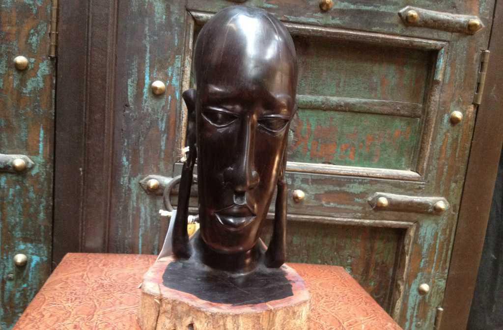 肯尼亚木雕价格_非洲木雕----来自非洲肯尼亚的纯手工乌木木雕女人