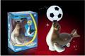 供应玩具音乐足球电动海豹