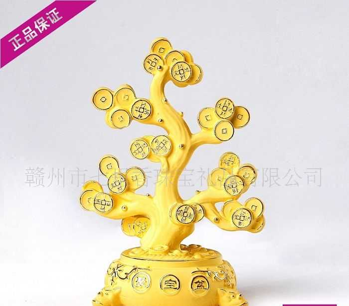 七里香珠宝 财运系列 **纯银礼品 *摆件 聚宝盆 9036A