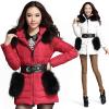 供应厂家批发 2012新款冬装 韩版时尚女士羽绒服