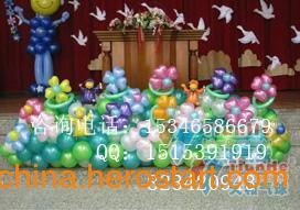 供应郑州气球装饰,彩球装饰,魔术气球培训,广告气球
