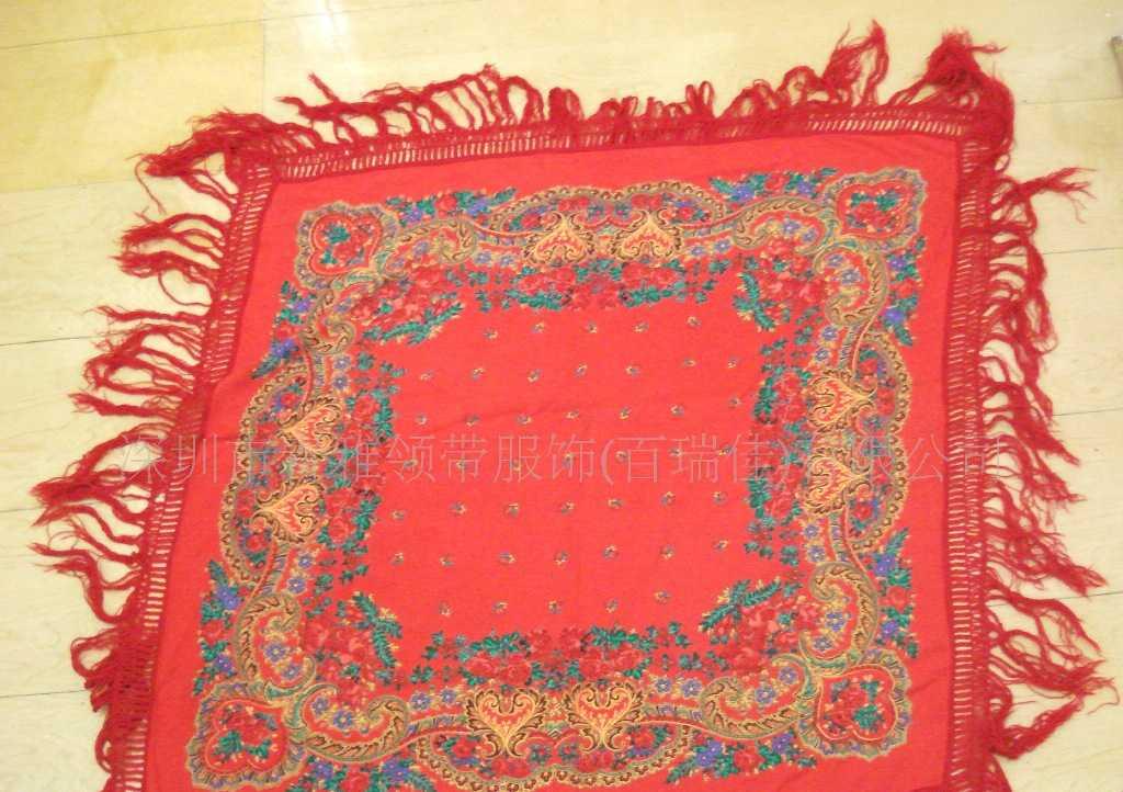 丝巾 纺织围巾 三角巾中长围巾