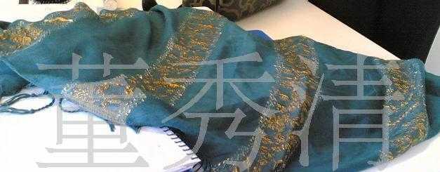 专业生产供应雪纺缎条绡长丝巾 仿真丝围巾 真丝纯色丝巾