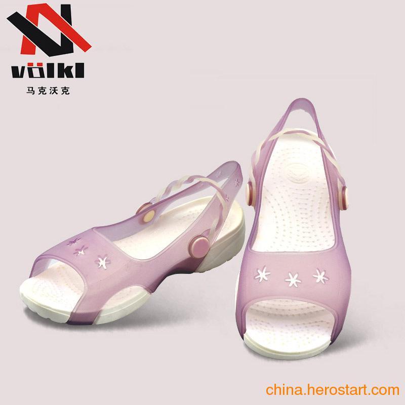 供应2012年新款女童沙滩鞋樱桃CHERRY