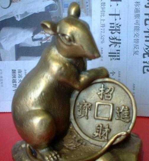 供应金属工艺品 送礼佳品   铜鼠  办公家庭摆件、收藏
