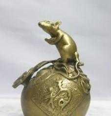 供应金属工艺品  铜鼠、办公家庭摆件、收藏品、鼠年吉祥