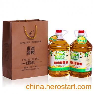 供应一级山茶油4.5L装