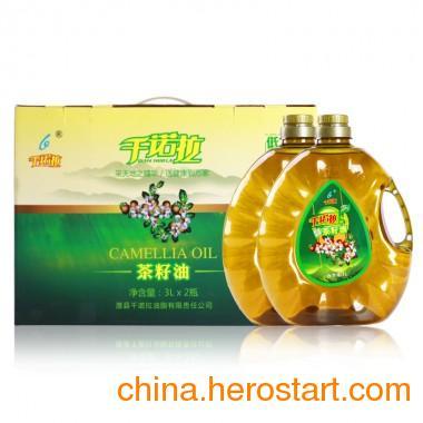 供应一级压榨山茶油3L*2精美礼品装