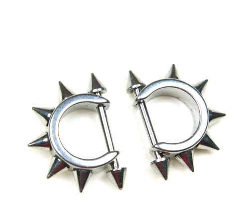 齿轮男士穿刺钛钢耳钉 耳环 不锈钢饰品批发