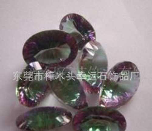 【特别推荐】供应压电刻面紫晶 黄晶 绿晶 茶晶介面宝石